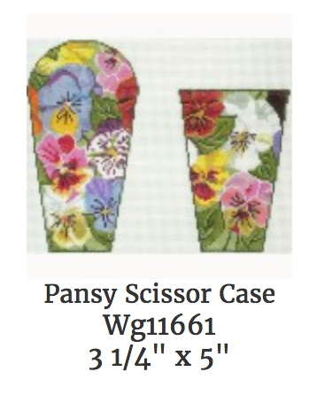 Pansy Scissor Case