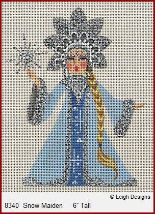 Snow Maiden w/ Stitch Guide