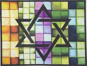 Jeweltone Tiled Tallis Bag  13 mesh