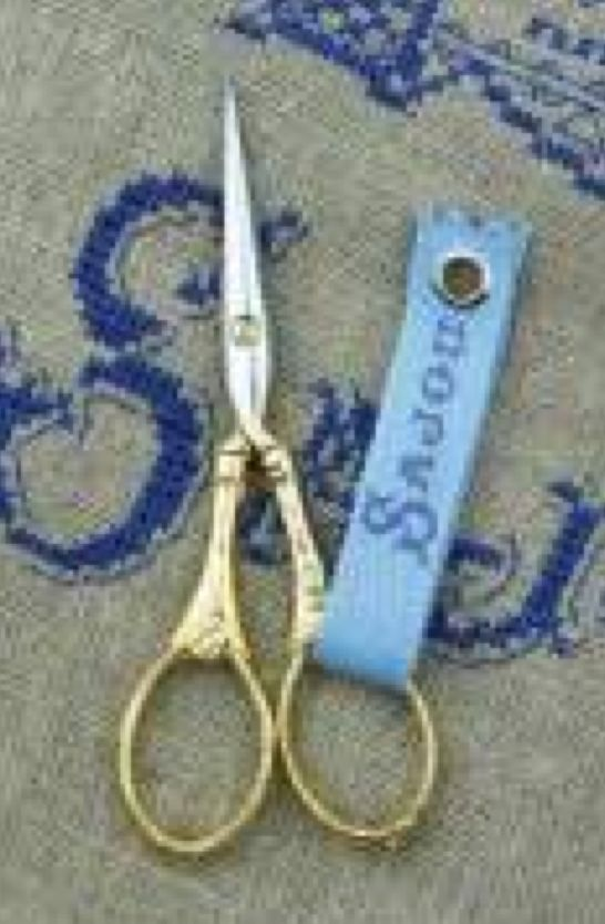 Sajou Flowers and Pearls Scissors