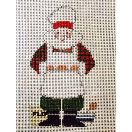 Baking Santa W/ Stitch Guide