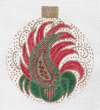 Paisley Ornament