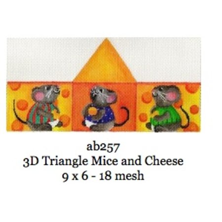 3D Triangle Mice and Cheese