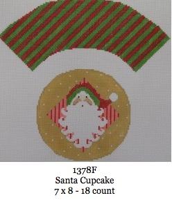 Santa Cup Cake