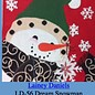 Wish Snowman Black Scarf 13Mesh