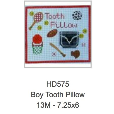 Boys Tooth Fairy Pillow