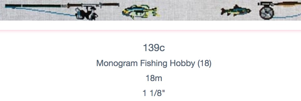 Monogram Fishing Hobbym Belt