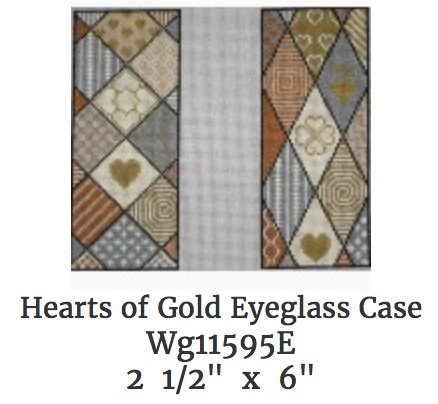 Hearts Eye Glass Case