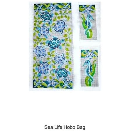 Sea Life Hobo Bag