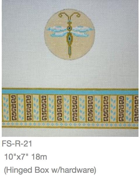 Dragonfly Round Box