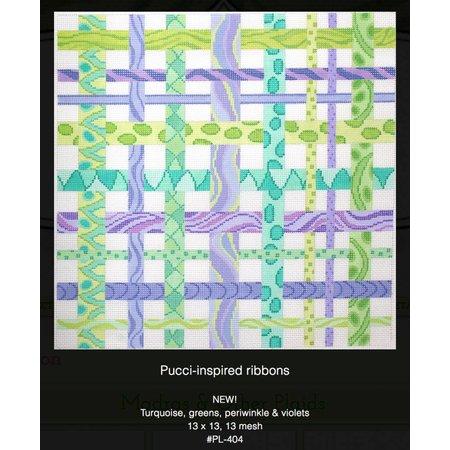 Purple/Green Ribbons PL-404
