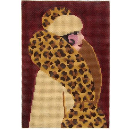 Leopard Coat Lady