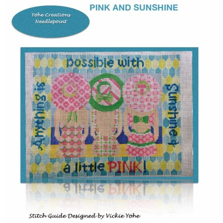 Stitch Guide Pink and Sunshine