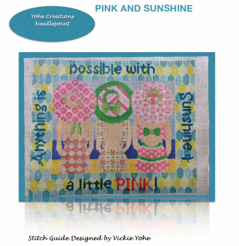 Stitch Guide Pink and Sunshine