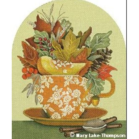 Autumn Leaves Cup