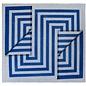 Fold Blue Geometric