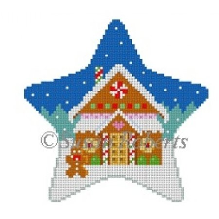 Star Gingerbread House