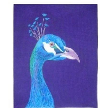 Peacock Portrait 13 ct.