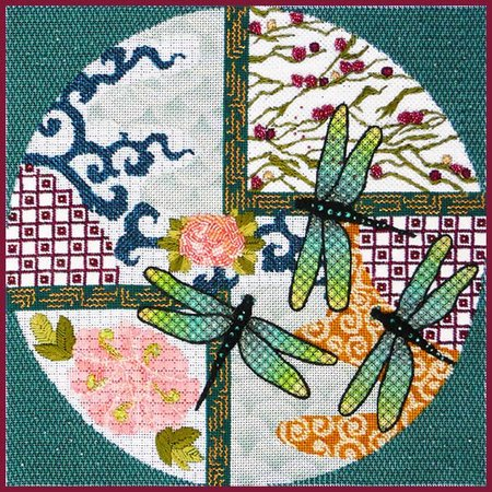 Divine Dragonflies with Stitch Guide