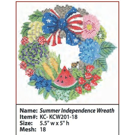 Summer Independence Wreath