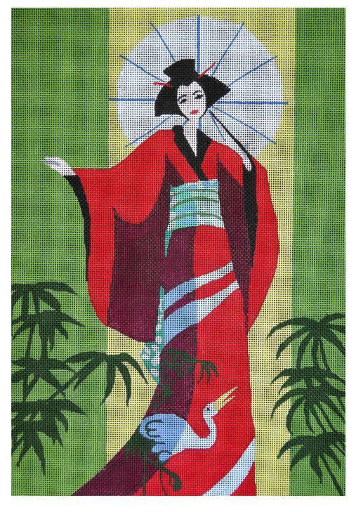 Geisha w/ Parasol