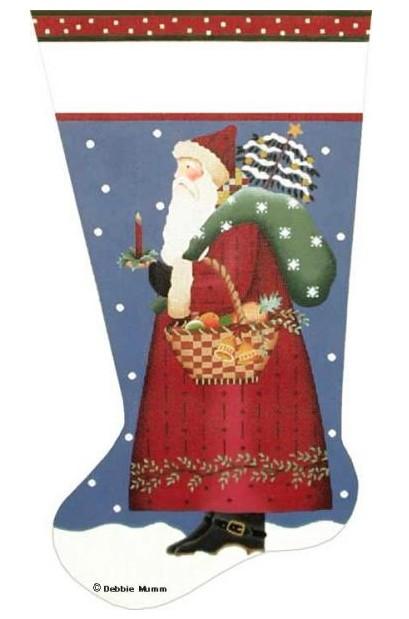 Peache and Pine Santa