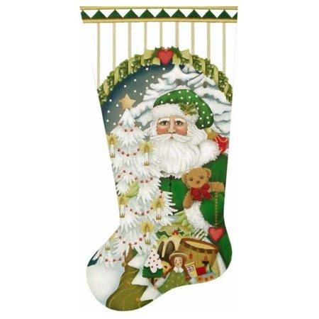 Large Toyland Santa