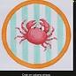Crab Turq/Orange  OM-135