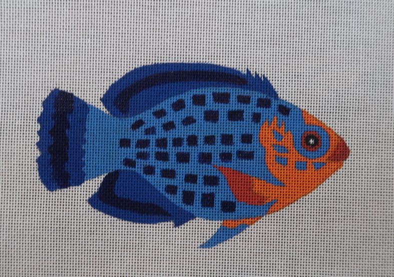 CHERUB FISH ORNAMENT