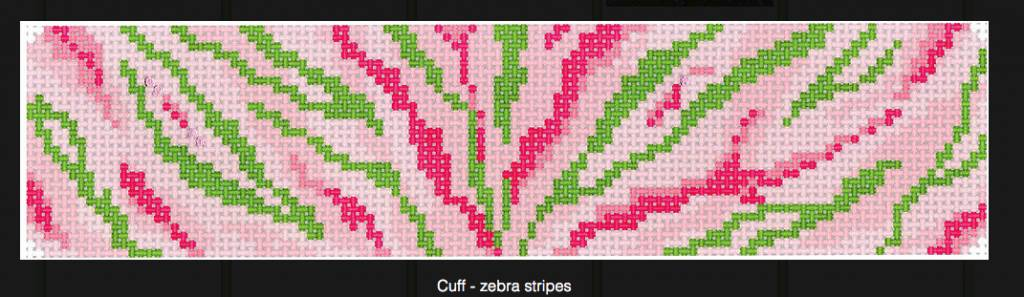 Cuff - Zebra Stripes