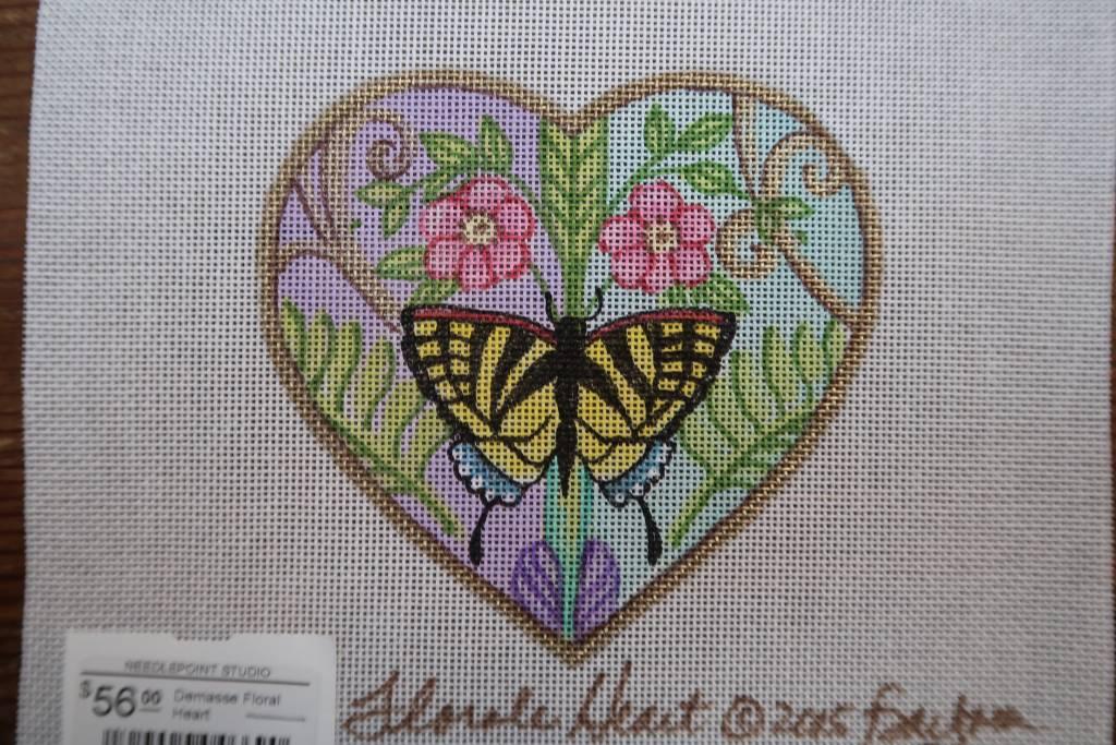 Demasse Floral Heart