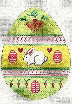 Easter Egg w/ Rabbit
