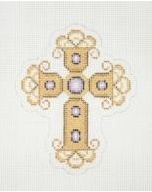 Cross Gold and Purple