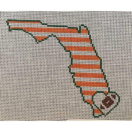 Miami Stripe Florida Football