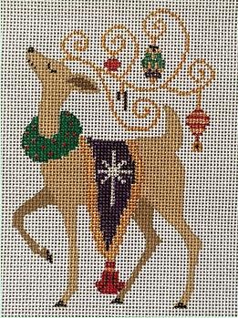 Fancy Reindeer Ornament