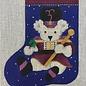Bear Drum Major Mini Stocking