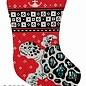 Turtle Stocking Red