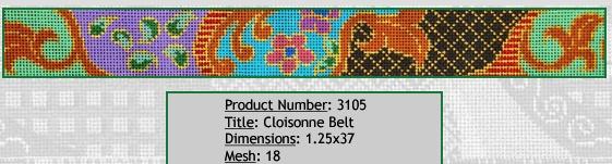 Cloisonne Belt