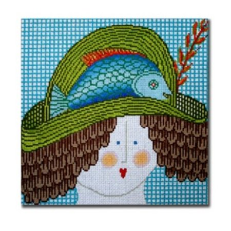 Lady with Fish Hat