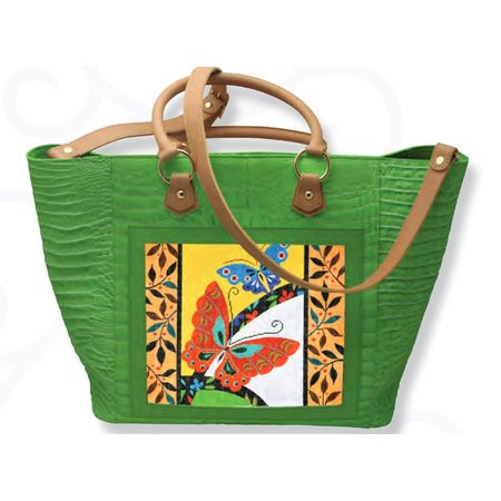 Leather Tote  (Canvas Not Included)