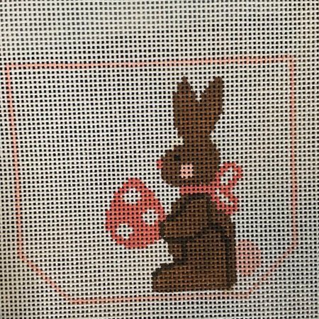 Chocolate Bunny Basket- Girl