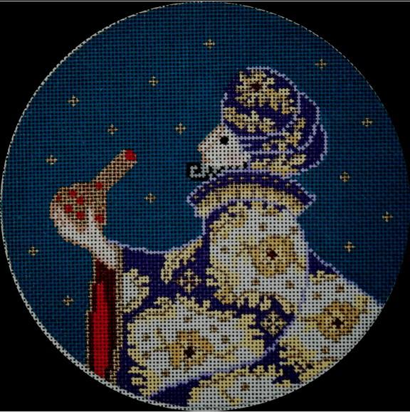 Purple Wise Man Nativity