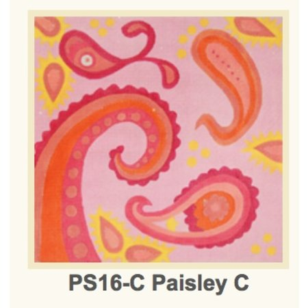 Paisley Pink and Orange