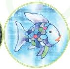 """3"""" Round Insert Fish"""