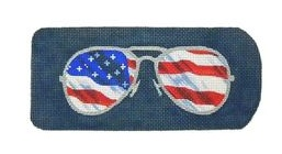 Eyeglass Case Flag Ray Bans