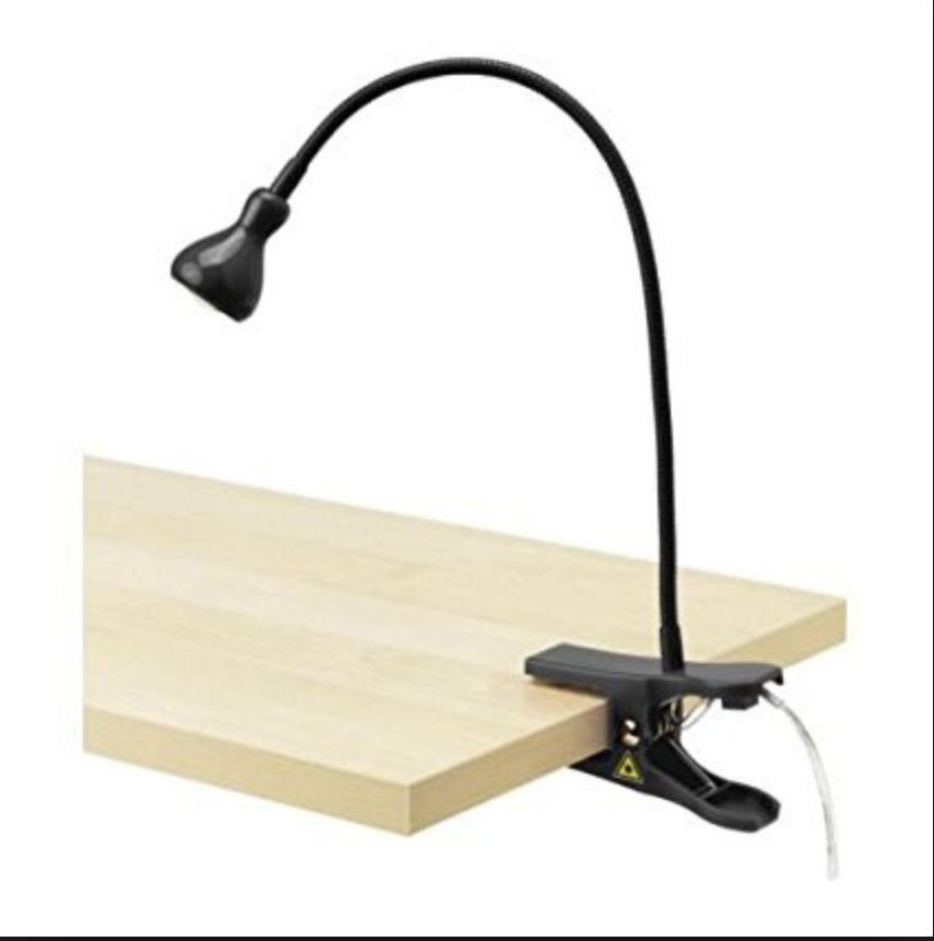 Clip-On Lights Black