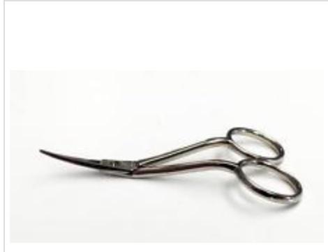 Premax 4.25 sewing scissors double curve