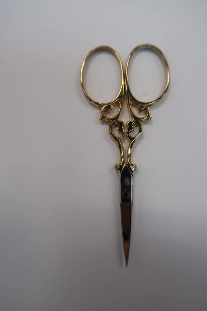 """Scissors Gold Plated 3.5"""""""