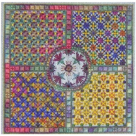 Chrysanthemums - Counted Needlepoint