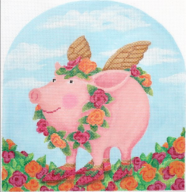 Rose Flying Pig